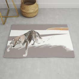 Totem Russian Wolf Rug