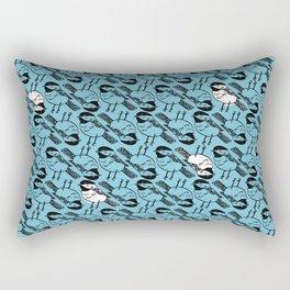Chickadee Dee Dee Tile Rectangular Pillow