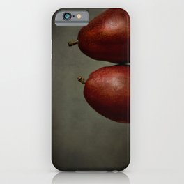 Red Pears iPhone Case