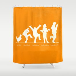 Bluth Chickens Shower Curtain