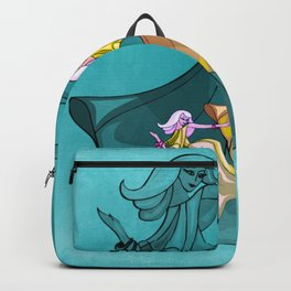 disocfever - turquoise Backpack