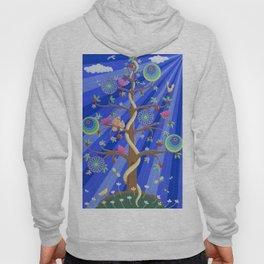 Mandala Tree of Life and Love Hoody