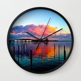 Long Wharf Wall Clock