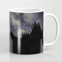 Camping under the Milky Way Coffee Mug