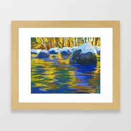 Golden Waters of Lynn Creek. #2 Framed Art Print