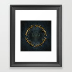 The Lord Of The Rings Logo Framed Art Print