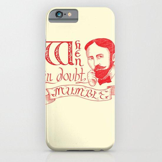 Mumble iPhone & iPod Case