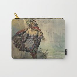 """King of the Fairies"" by A Duncan Carse Carry-All Pouch"