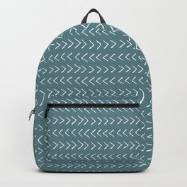 Arrows on Horizon Blue Backpack