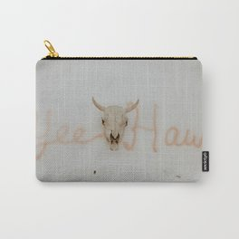 Yee Haw Cow Skull Carry-All Pouch