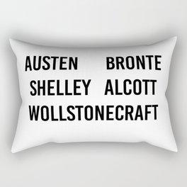 WOMEN OF CLASSICS (WHITE) Rectangular Pillow