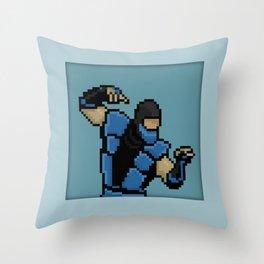 Pixel Sub-Zero Throw Pillow