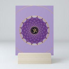 Sahasrāra (Crown) 7th Chakra Mini Art Print