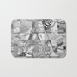The Letter A Bath Mat