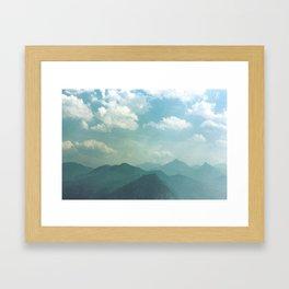 Dream, dream, dream. Framed Art Print