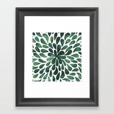 Garden Lydia i Framed Art Print