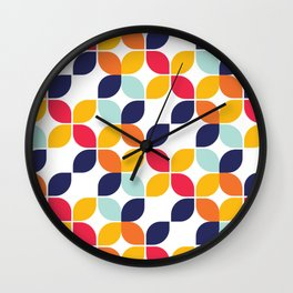 Bauhaus Inspired Wall Clock