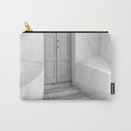 The Grey Door | Monochrome Entrance | Carry-All Pouch