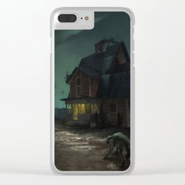 Akeley Ranch Clear iPhone Case