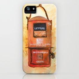 Vintage Postbox iPhone Case