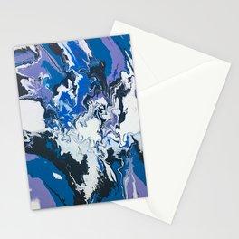 purple paradise Stationery Cards