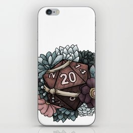 Monk Class D20 - Tabletop Gaming Dice iPhone Skin