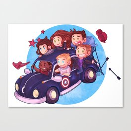 Punch Buggie Canvas Print