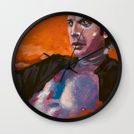Ian Malcolm: Dino Daddy Wall Clock