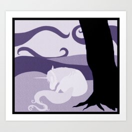 Dream Unicorn Art Print