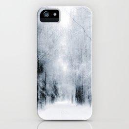 White surround iPhone Case
