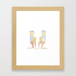 Lolitas Framed Art Print