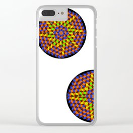 Mandala Project Eight Clear iPhone Case