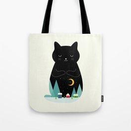 Silent Night Tote Bag