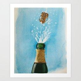 No More Corks Art Print