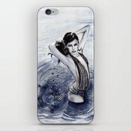 Blue Swim iPhone Skin