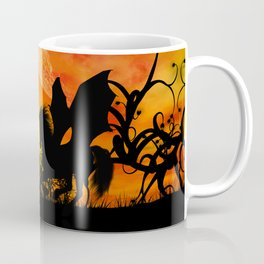 Beautiful unicorn silhouette Coffee Mug