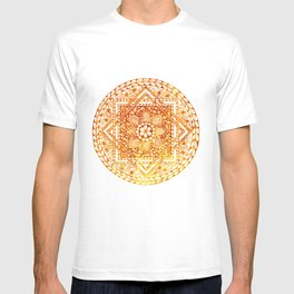 Sacred Geometry Mandala T-shirt
