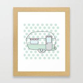 Caravan Version Two Framed Art Print