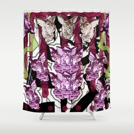 Gargoyle Gala Shower Curtain