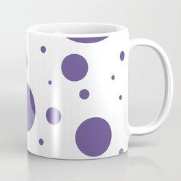 Ultra Violet Bubbles Coffee Mug