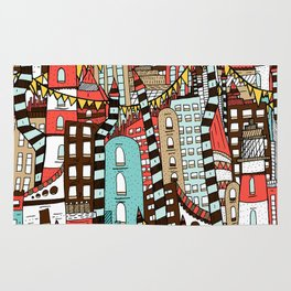 The City of Towers Rug