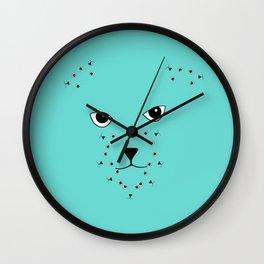 JD (John Doe) Cat Wall Clock