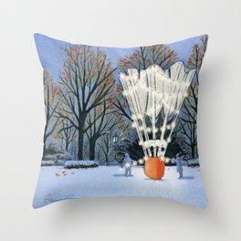 Nelson-Atkins Christmas Throw Pillow