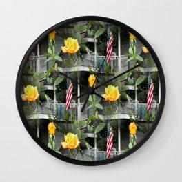 Happy Labor Day! Wall Clock