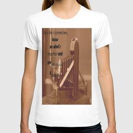 Life Is Like A Camera Lens T-shirt