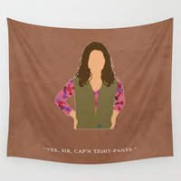 firefly Wall Tapestries featuring Firefly - Kaylee by MacGuffin Designs