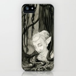 Lost in the Elfin Woods iPhone Case