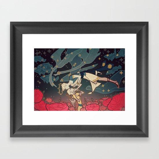 Pari Framed Art Print