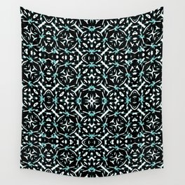 Oriental Geometric Print Pattern Wall Tapestry