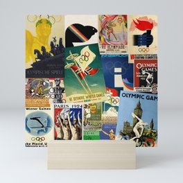 Olympics Montage Mini Art Print